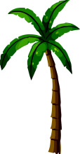 Left Palm Tree